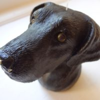 Black Lab Hitch Buddy Tow Ball Cover