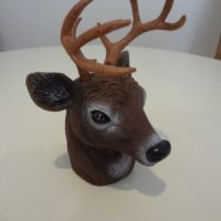 Deer Head Hitch Buddy Tow Ball Cover
