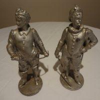 Pair of Antique Cavalier Figurines