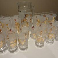 Antique / Art Deco Glassware set