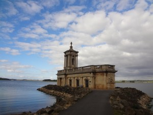 Oakham High Street - Normanton Church on Rutland Water